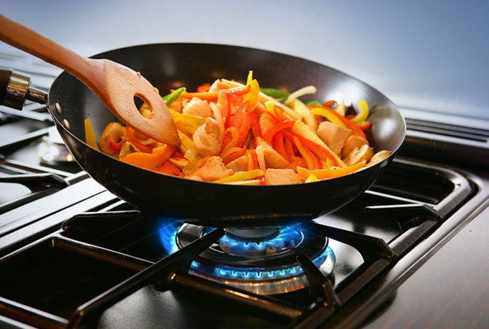 Kochen mit Erdgas: 150 Euro Zuschuss genießen!